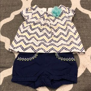 18-24 mo Gymboree short outfit